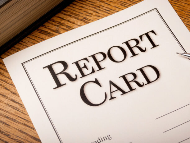 Have a Look at My Report Card